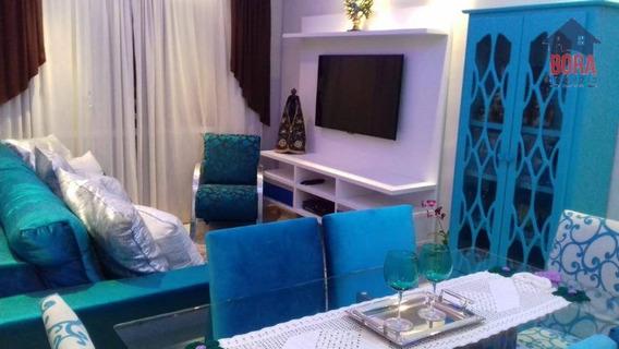 Apartamento Com 3 Dormitórios À Venda, 67 M² Por R$ 280.000 - Terra Preta - Mairiporã/sp - Ap0076