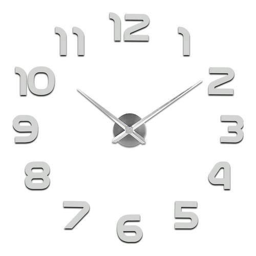 Imagen 1 de 8 de Reloj De Pared Digital 3d Moderno Y Grande De 110cm