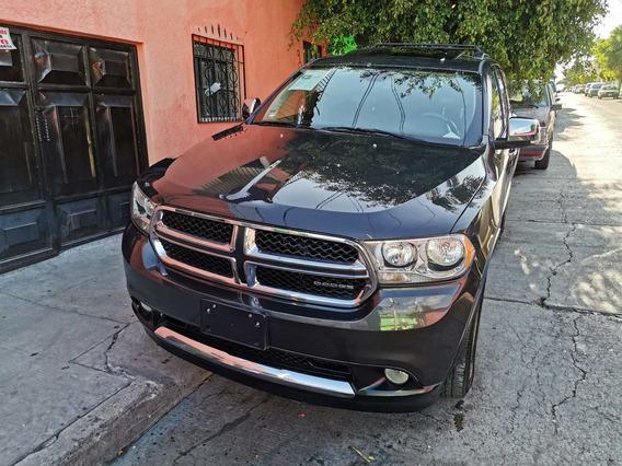 Dodge Durango Crew Luxuri V8 Gps Dvd Piel Quemacocos