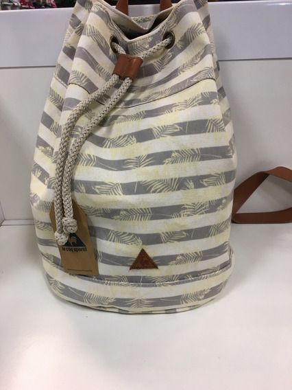 Mochila Marinera Print Sailorbag Le Coq Sportif