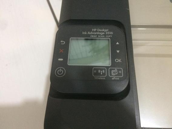 Impressora Hp Deskjet Ink Advantage 3516 - Usado