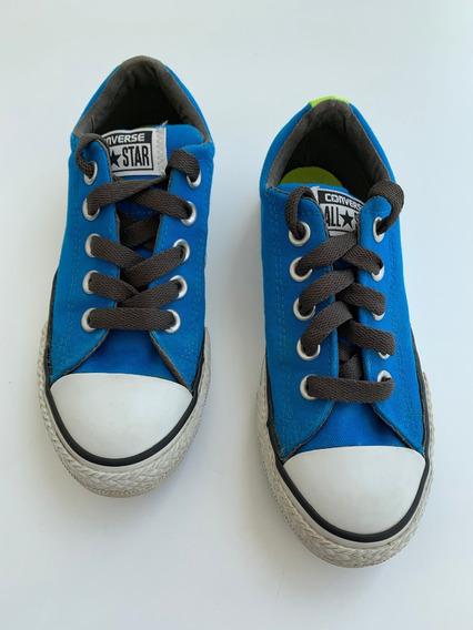 Zapatos Converse Original De Niño Talla 13 Usa 31 Eur