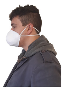 Máscara Semi Descartável Dupla Tipo N95 Com 100 Und Atacado