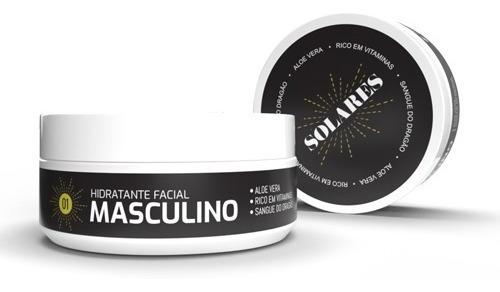 Hidratante Facial Masculino Anti-age Solares 150g