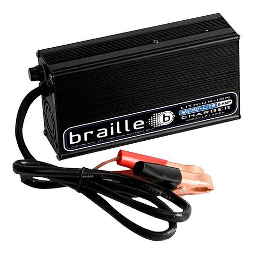 Cargador Para Batería De Litio 12v 6a 1236l Braille
