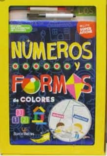 Libro Nuevo Números Y Formas De Colores