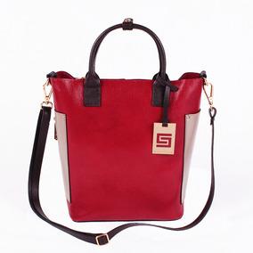 Bolsa Couro Bucket Smartbag