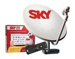Kit Pré Pago Sky Sd Habilitado 30 Dias De Canais Digitais