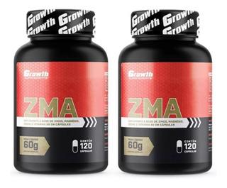 Kit 2 Zma 120 Caps Super Concentrado - Growth