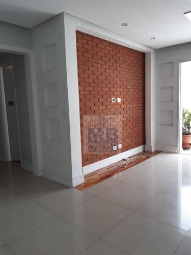 Apartamento Com 3 Dormitórios Para Alugar, 82 M² Por R$ 2.500,00/mês - Jardim Marajoara - São Paulo/sp - Ap4169