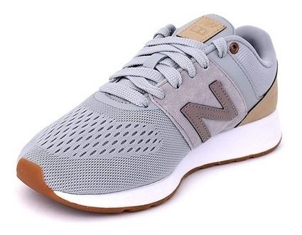 Zapatillas New Balance Mujer Gris Deportivas