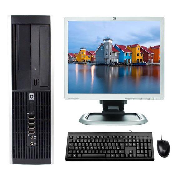 Computador Hp Core 2 Quad 8gb 500gb Rw Wifi + Monitor 17