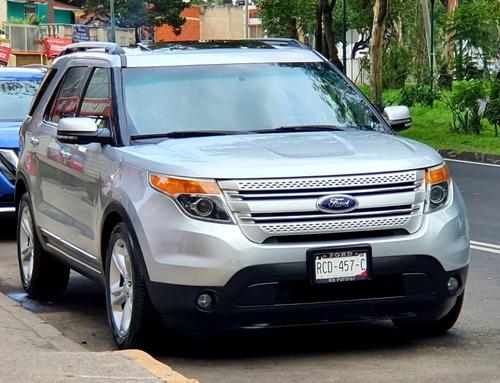 Imagen 1 de 14 de Ford Explorer 2014 Limited Qc Factura De Agencia Impecable!