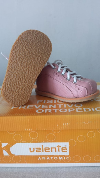 Tênis Ortopédico Infantil - Valente Rosa V11