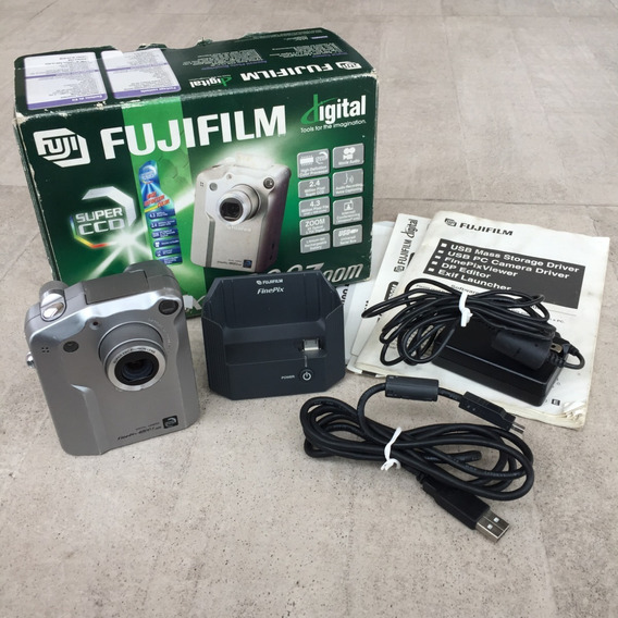 Câmera Fotográfica Digital Fujifilm Fine Pix Sem Bateria