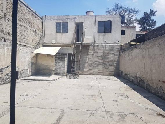 Terreno Con Construccion En Ciudad Azteca