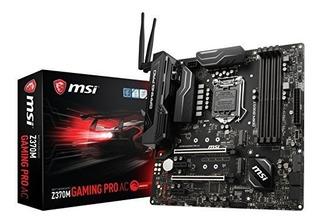 Msi Z370m Gaming Pro Ac Micro Atx Motherboard