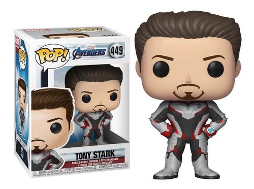 Funko Pop Muñeco Original Marvel Avengers Tony Stark 449