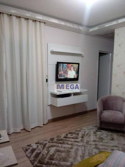 Apartamento Com 2 Dormitórios À Venda, 60 M² Por R$ 210.000,00 - Jardim Andorinhas - Campinas/sp - Ap4097