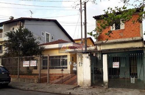 Terreno À Venda, 500 M² (com 2 Casas)- Jardim Santa Cecília - Guarulhos/sp - Cód. Te0505 - Ai13975