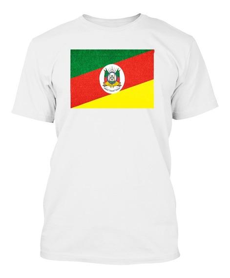 Camiseta Rio Grande Do Sul Rs Gaúcho Bandeira Estado