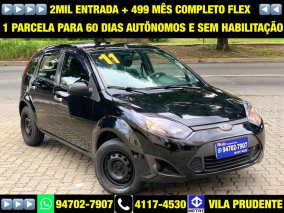 Ford Fiesta Flex Hatch 1.0 Completo 2mil Entrada+499 Mensais