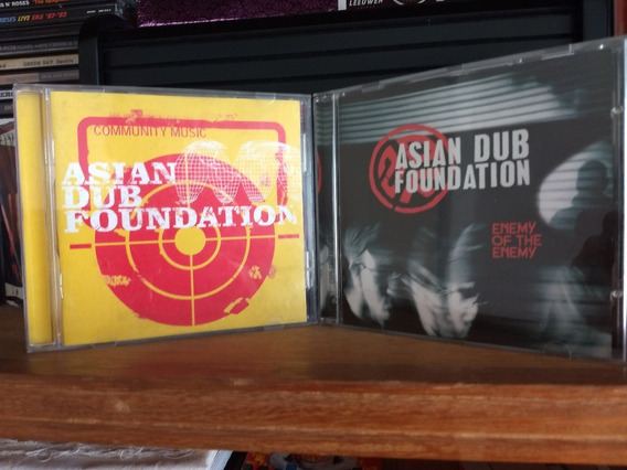 Asian Dub Foundation Lote Coleccion Cds Cd Rap Hip-hop