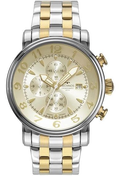 Relógio Masculino Technos Grandthech Bicolor Os10fh/1d