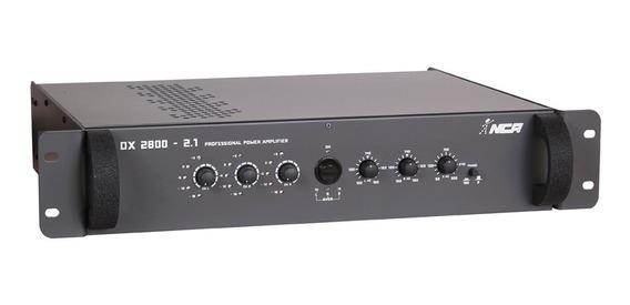 Amplificador De Potência Linha Dx Ll Audio Dx2800 2.1 700 W