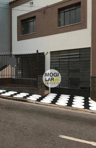 Sobrado Com 3 Dormitórios, 145 M² - Venda Por R$ 800.000 Ou Aluguel Por R$ 3.004,32/mês - Centro - Mogi Das Cruzes/sp - So0112