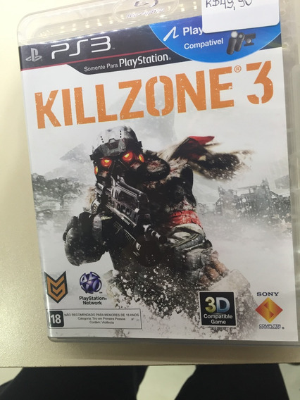 Killzone 3 Ps3 Mídia Física
