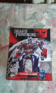 Transformers Sticker Album Salo