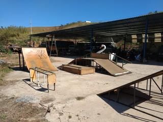 Pista De Skate Completa Em Metalon E Mdf