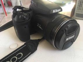 Câmera Nikon P900 Semi Profissional Completa Seminova