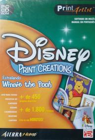 Print Artist Disney Print Creations (lacrado)