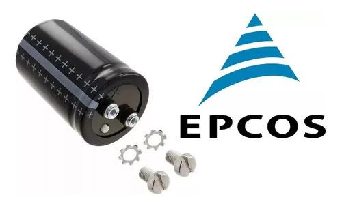 Imagem 1 de 10 de 2x Capacitor Eletrolitico 22.000uf X 100v * Epcos * 22000uf