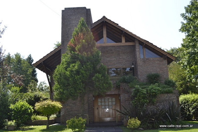 Gran Casa Al Golf En Alquiler En Sociedad Hebraica Argentina