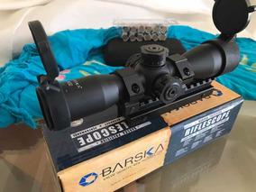 Luneta Barska 4x32 Com Kit Raiser Mount