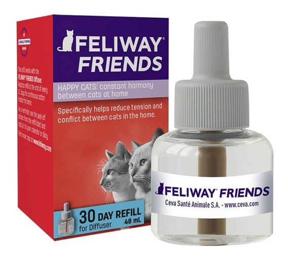 Feliway Friends Refil 48ml Educador De Conflitos Entre Gatos