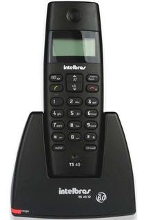 Telefone Sem Fio Intelbras Com Identificador De Chamadas