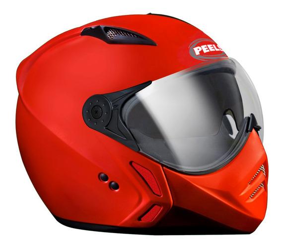 Capacete Mirage Classic Vermelho F21 Óculos Interno