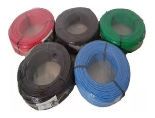 Cable Unipolar 4 Mm X 2 Rollos X 100 Mts C/u L Pack Oferta!!