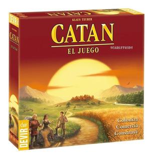 Catan El Juego Klaus Teuber Original Devir Scarlet Kids