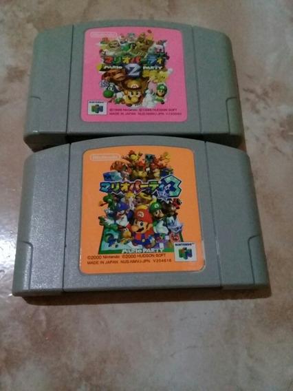 Mario Party 2 E 3 Nintendo 64