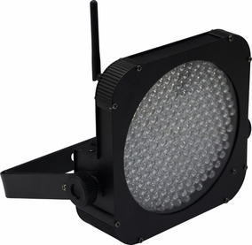 Refletor Canhão Led Par 64 177 Leds Rgbw Com Dmx Wireless Nf
