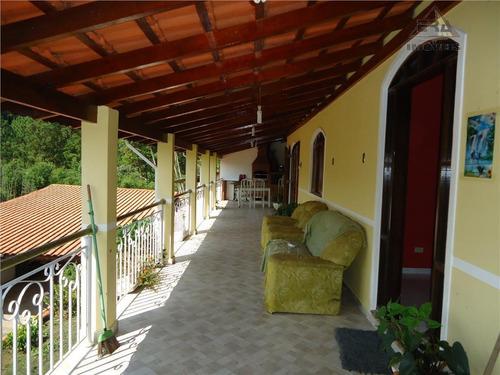Chácara  Residencial À Venda, Copaco, Arujá. - Ch0022