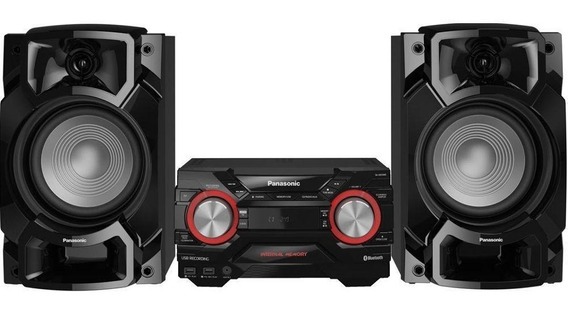 Mini System Panasonic Sc-akx440lbk 580w Bluetooth 4gb