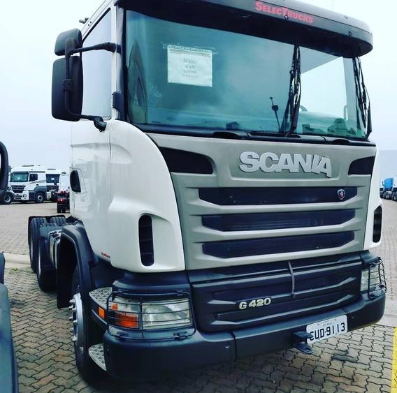 Scania G420 6x4 2010 Selectrucks