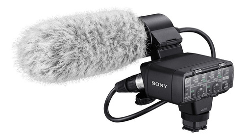 Kit Sony Adaptador Y Micrófono Para Cámaras | Xlr-k2m