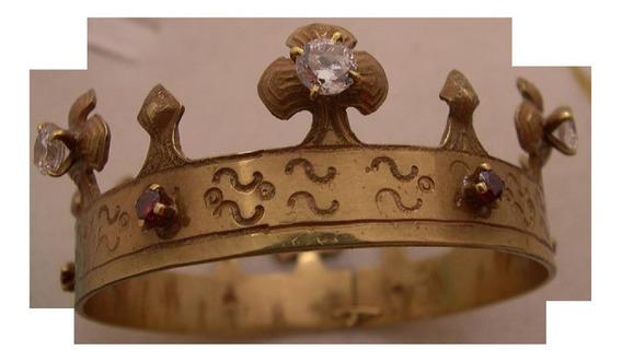 Corona Para Virgen Plata 950 Envió Gratis Msi